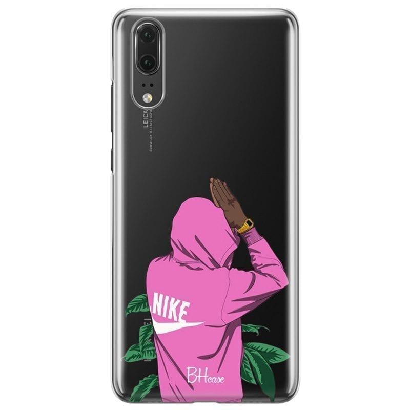 Nike Pink Boy Kryt Huawei P20