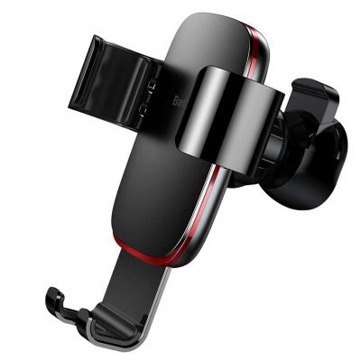 Baseus Metal Age Gravity Car Mount Red and Black