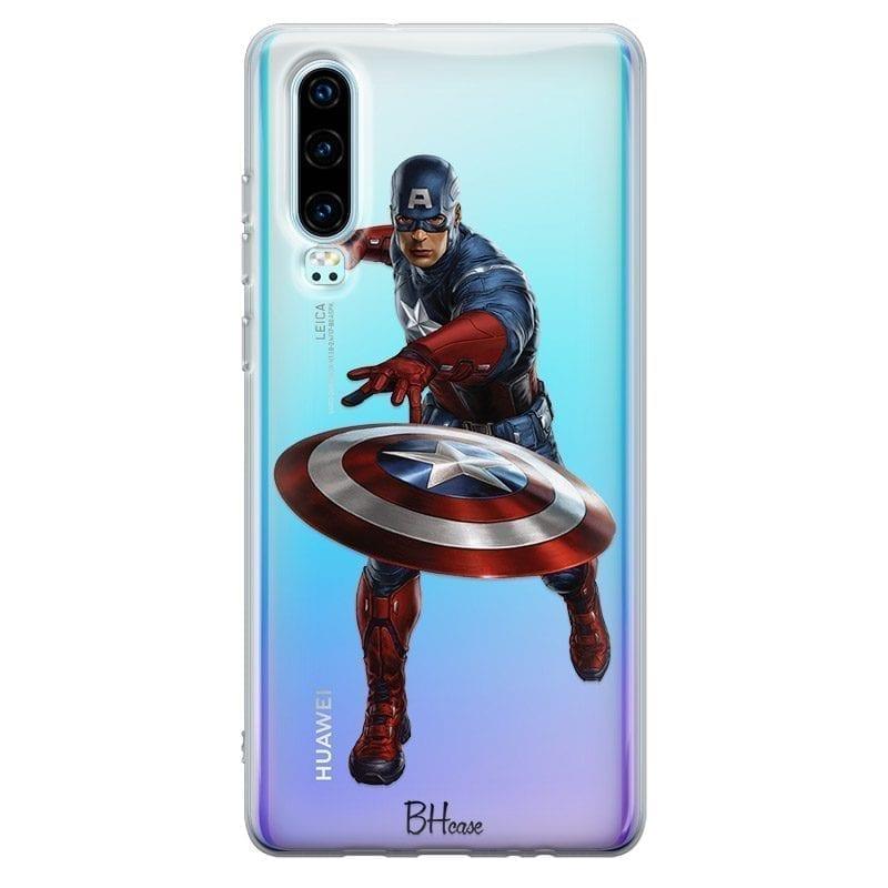 Captain America Kryt Huawei P30