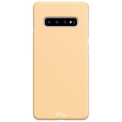 Champagne Color Kryt Samsung S10 Plus