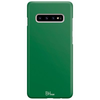 Dark Spring Green Color Kryt Samsung S10