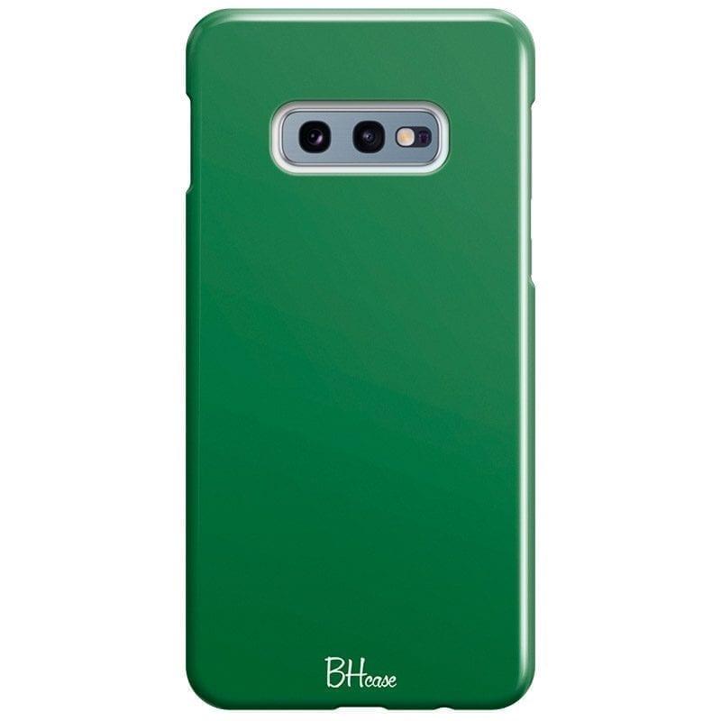 Dark Spring Green Color Kryt Samsung S10e