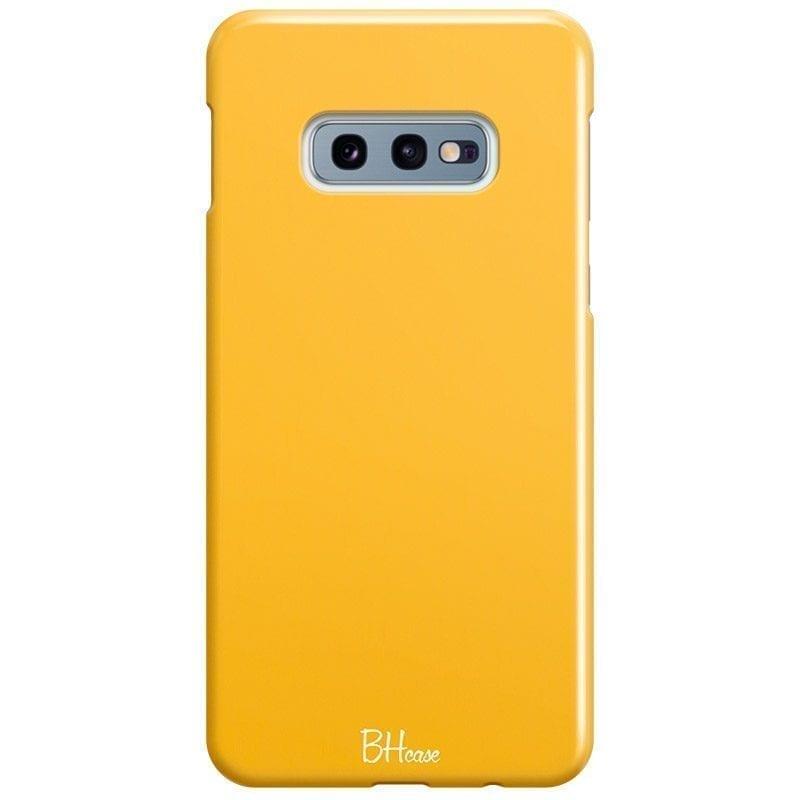 Honey Yellow Color Kryt Samsung S10e