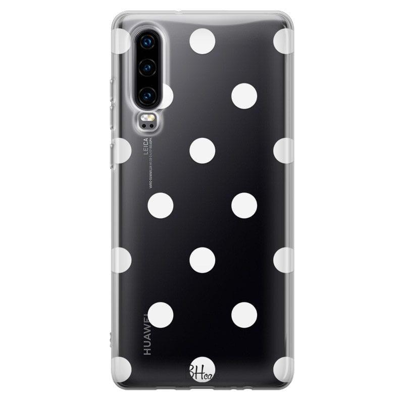 Polka Dots Kryt Huawei P30