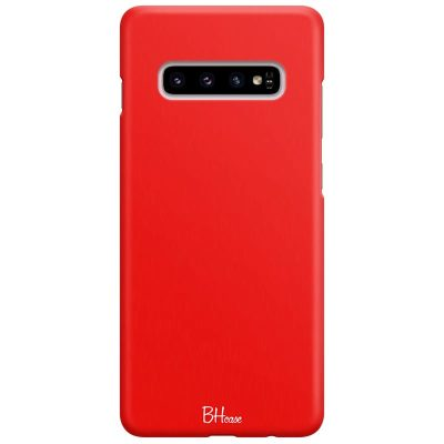 Red Apple Color Kryt Samsung S10