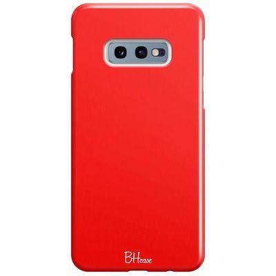 Red Apple Color Kryt Samsung S10e