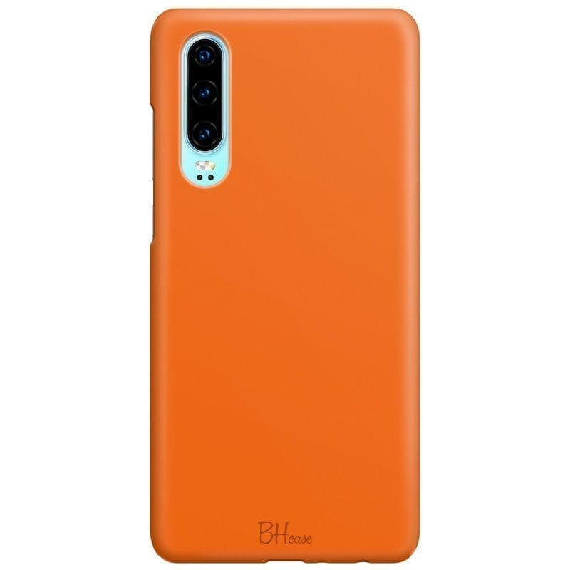 Tiger Orange Color Kryt Huawei P30