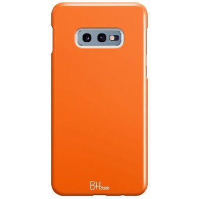 Tiger Orange Color Kryt Samsung S10e