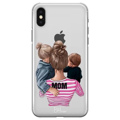 Mom Of Boy And Girl Kryt iPhone XS Max