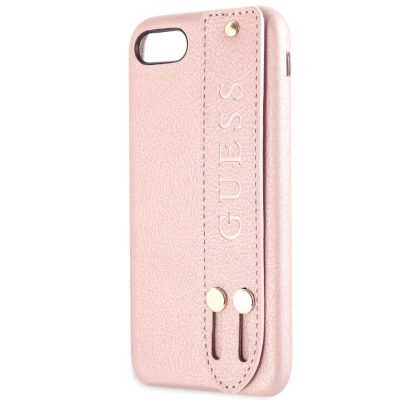 Guess Saffiano Strap Rose Kryt iPhone 8/7