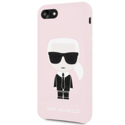 Karl Lagerfeld Ikonic Full Body Silicone Pink Kryt iPhone 6/6S/7/8