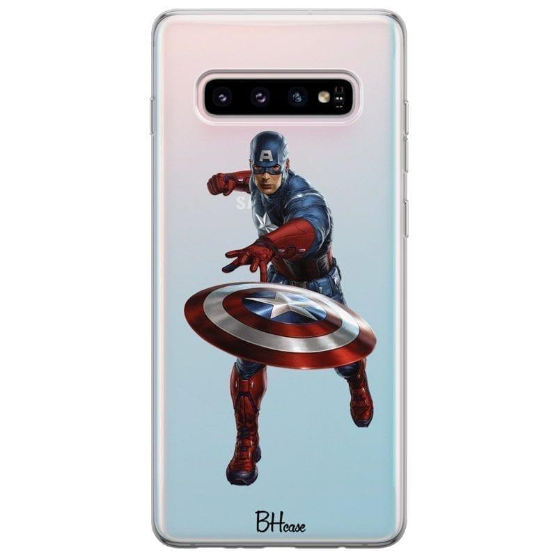 Captain America Kryt Samsung S10 Plus