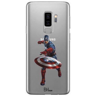 Captain America Kryt Samsung S9 Plus