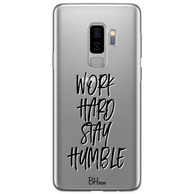Work Hard Stay Humble Kryt Samsung S9 Plus