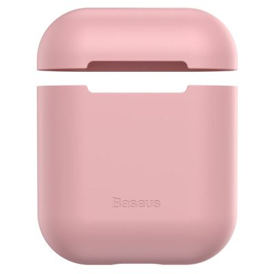 Baseus AirPods Silicone Pink Case