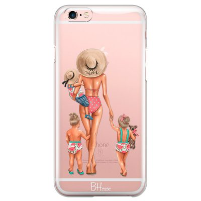 Beach Day Girls Blonde Kryt iPhone 6/6S