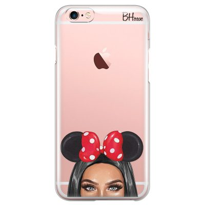 Black Haired Girl With Ribbon Kryt iPhone 6/6S