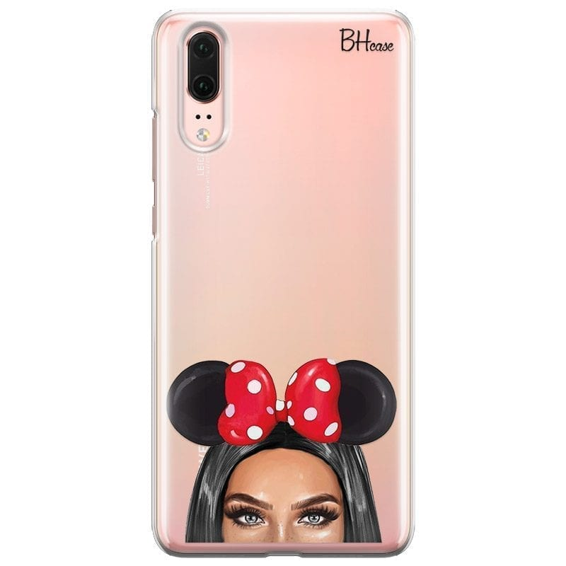 Black Haired Girl With Ribbon Kryt Huawei P20