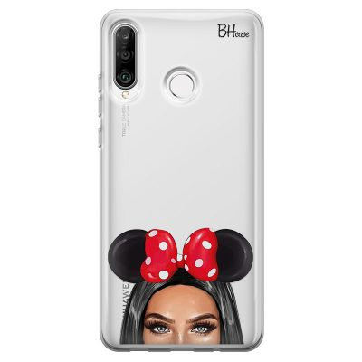 Black Haired Girl With Ribbon Kryt Huawei P30 Lite