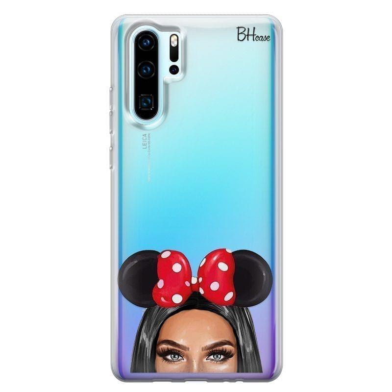 Black Haired Girl With Ribbon Kryt Huawei P30 Pro