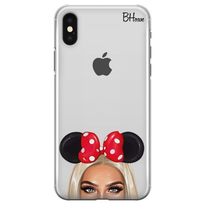 Blonde Girl With Ribbon Kryt iPhone XS Max