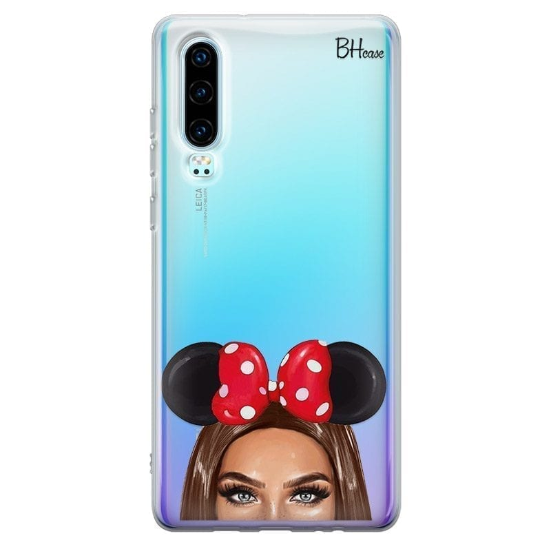 Brunette Girl With Ribbon Kryt Huawei P30