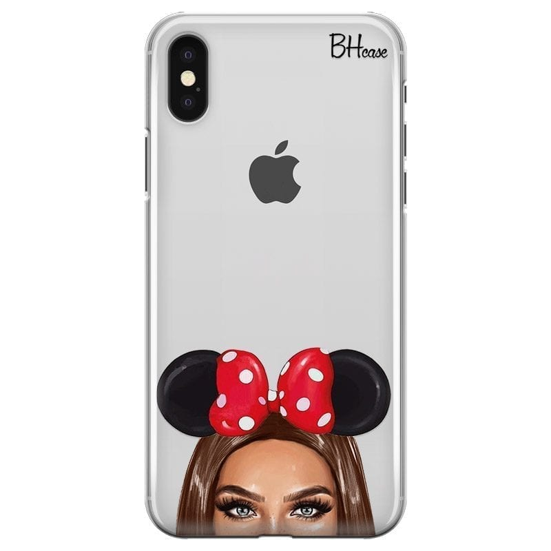 Brunette Girl With Ribbon Kryt iPhone XS Max