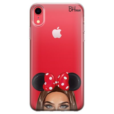 Brunette Girl With Ribbon Kryt iPhone XR