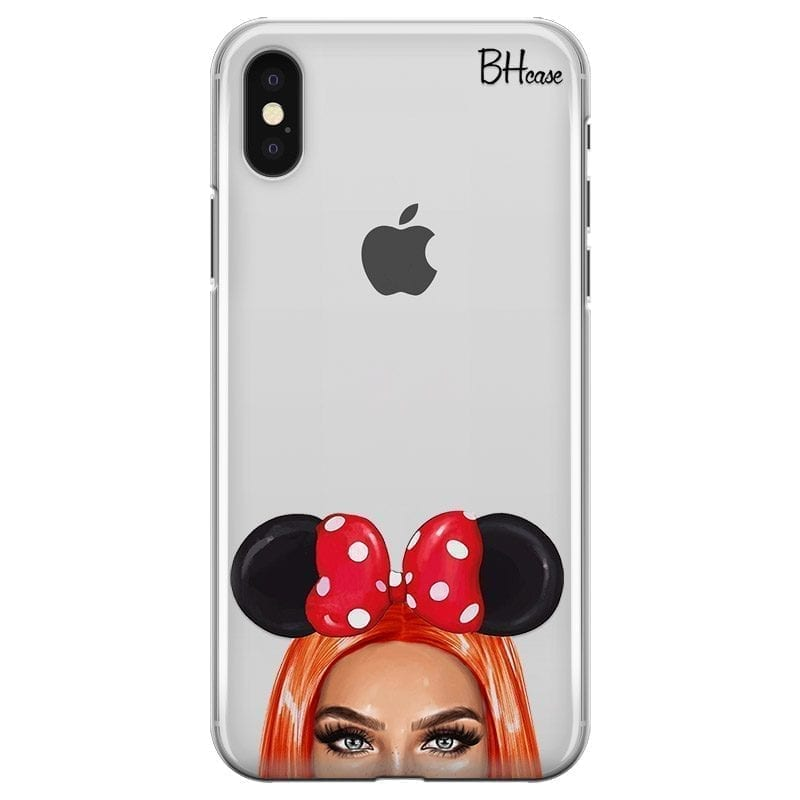 Redhead Girl With Ribbon Kryt iPhone XS Max