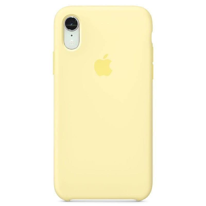 Apple Mellow Yellow Silicone Kryt iPhone XR