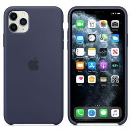 Apple Midnight Blue Silicone Kryt iPhone 11 Pro