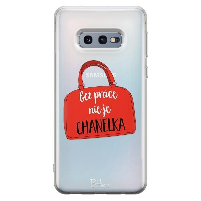 Bez Práce Nie Je Chanelka Kryt Samsung S10e
