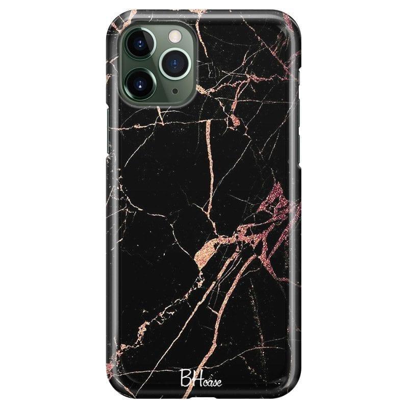 Black Rose Marble Kryt iPhone 11 Pro