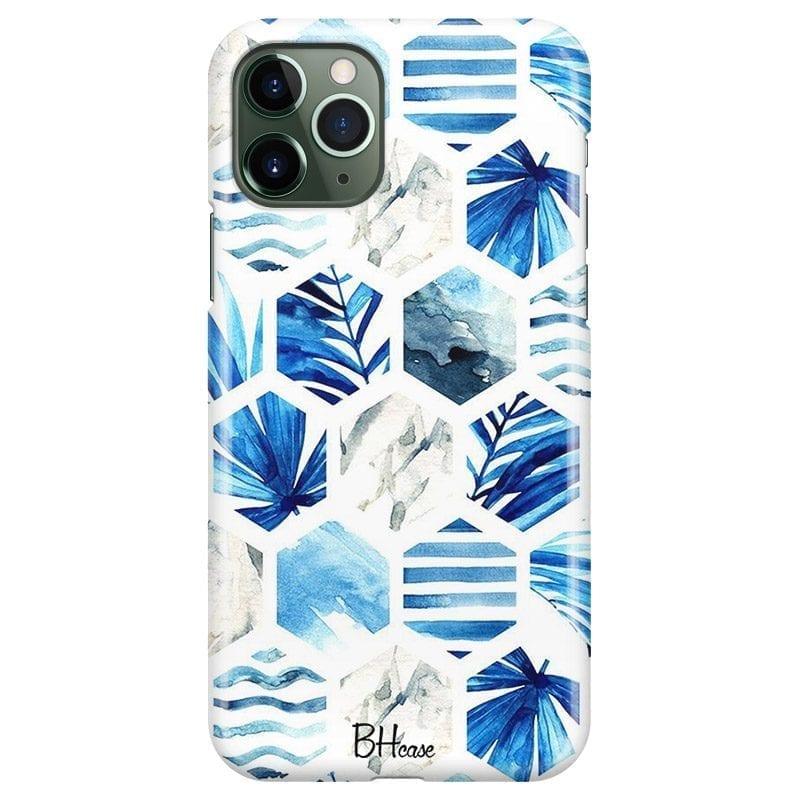 Blue Design Kryt iPhone 11 Pro