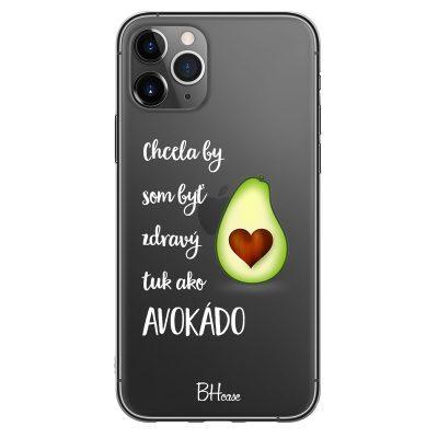 Chcela By Som Byť Avokádo Kryt iPhone 11 Pro