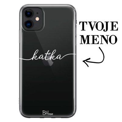 Kryt s menom pre iPhone 11
