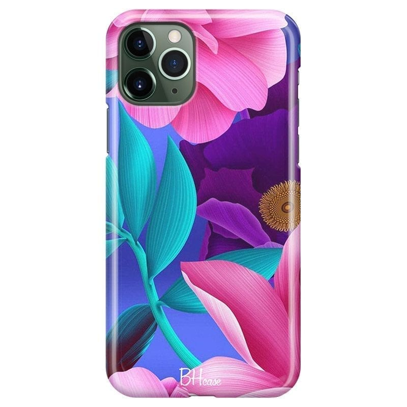 Pinky Floral Kryt iPhone 11 Pro