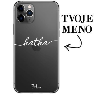 Kryt s menom pre iPhone 11 Pro