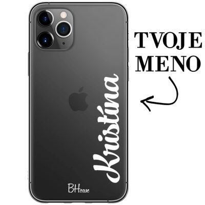 Kryt s vertikálnym menom pre iPhone 11 Pro