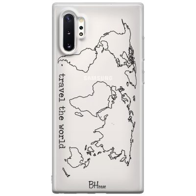 Travel The World Kryt Samsung Note 10 Plus