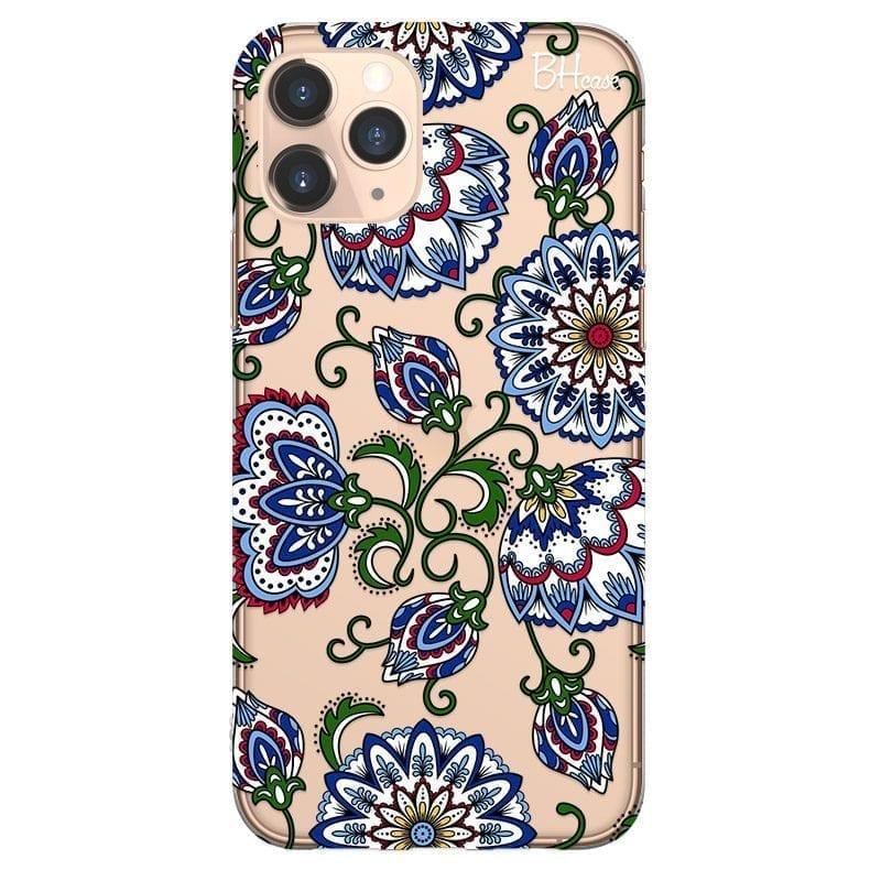Vintage Floral Kryt iPhone 11 Pro