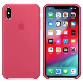 Apple Hibiscus Silicone Kryt iPhone XS Max