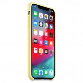 Apple Mellow Yellow Silicone Kryt iPhone XS Max