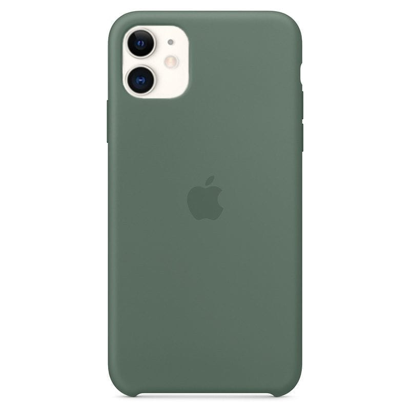 Apple Pine Green Silicone Kryt iPhone 11