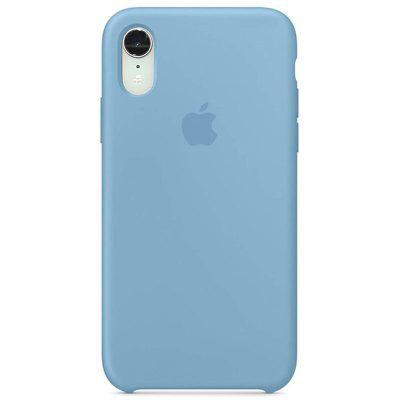 Apple Cornflower Silicone Kryt iPhone XR