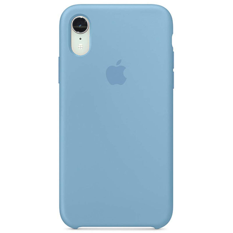 Apple Cornflower Silicone Kryt iPhone XR