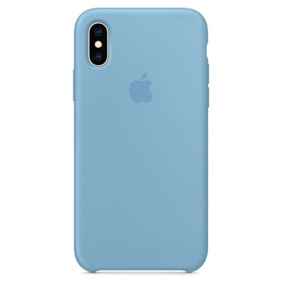Apple Cornflower Silicone Kryt iPhone XS Max