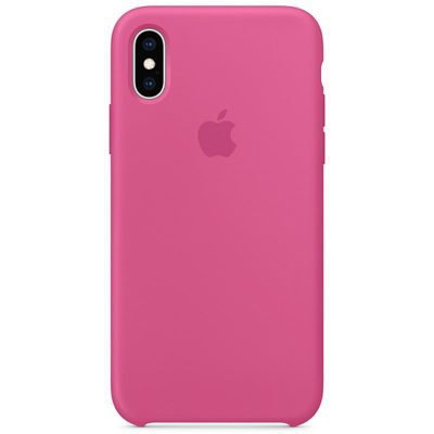 Apple Dragon Fruit Silicone Kryt iPhone XS