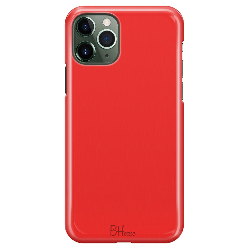 Red Apple Color Kryt iPhone 11 Pro