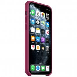 Apple Pomegranate Silicone Kryt iPhone 11 Pro Max